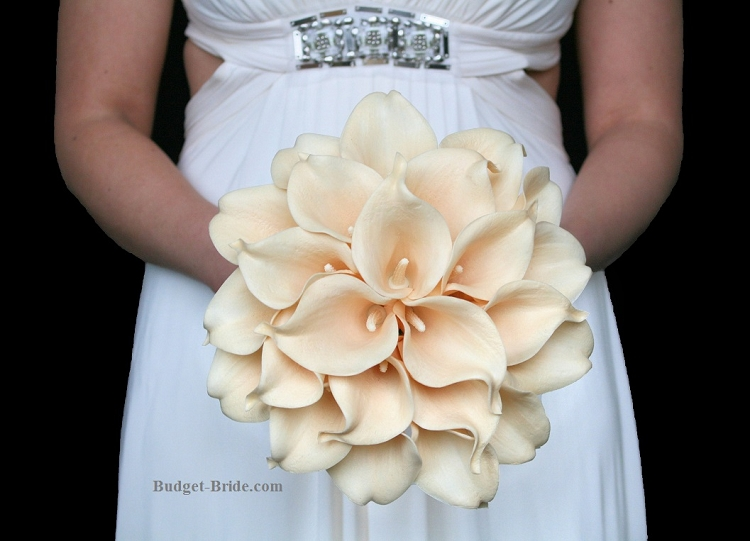 White Calla Lily Wedding Flowers