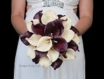 Wine Brides Bouquet