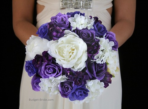 Purple Orchid Maid of Honor