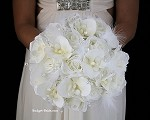 White Faith Brides Bouquet