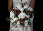 White Christmas Brides Bouquet