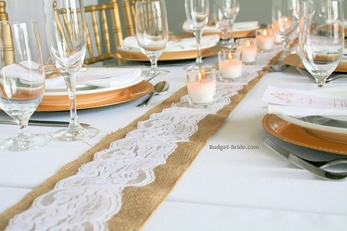 Burlap and Lace Table Pro Pack
