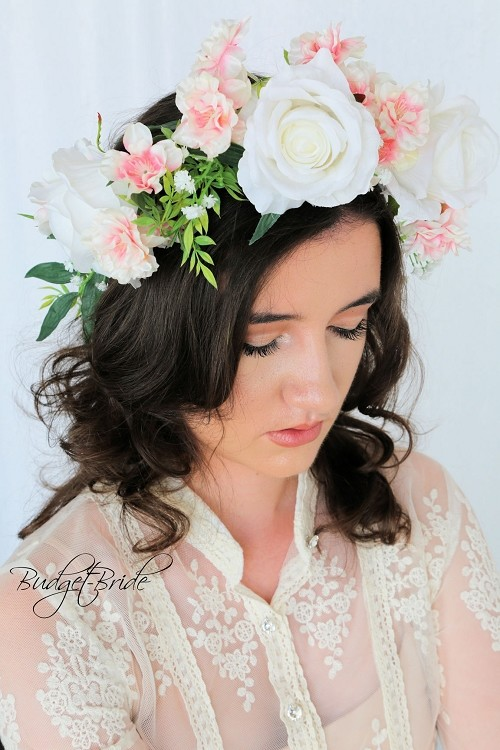 Cherry Blossom Head Wreath