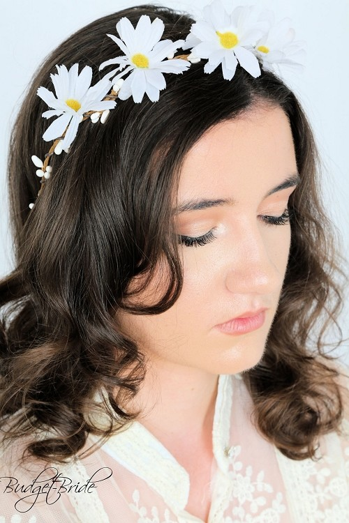 Daisy Head Wreath