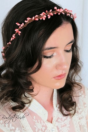 Pink Berry Head Wreath