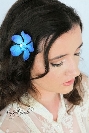 Blue Orchid Headpin