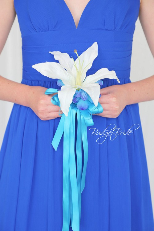Blue Orchid Jr Bridesmaid